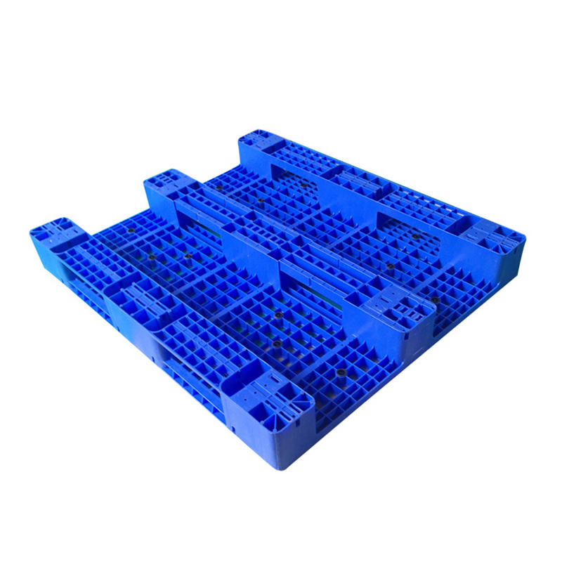 Heavy Duty 1300x1100 Flat Pallet Single Face Plastic Pallet