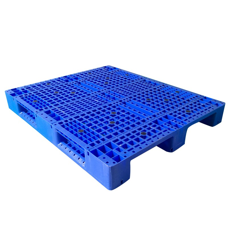 SMART DRAGON-Heavy Duty 1300x1100 Flat Pallet Single Face Plastic Pallet | Company-3