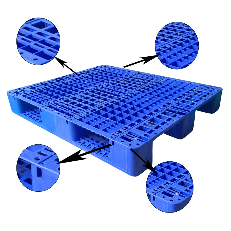 SMART DRAGON-High-quality | Warehouse Racking Storage And Ground Stackable Plastic Pallet-4