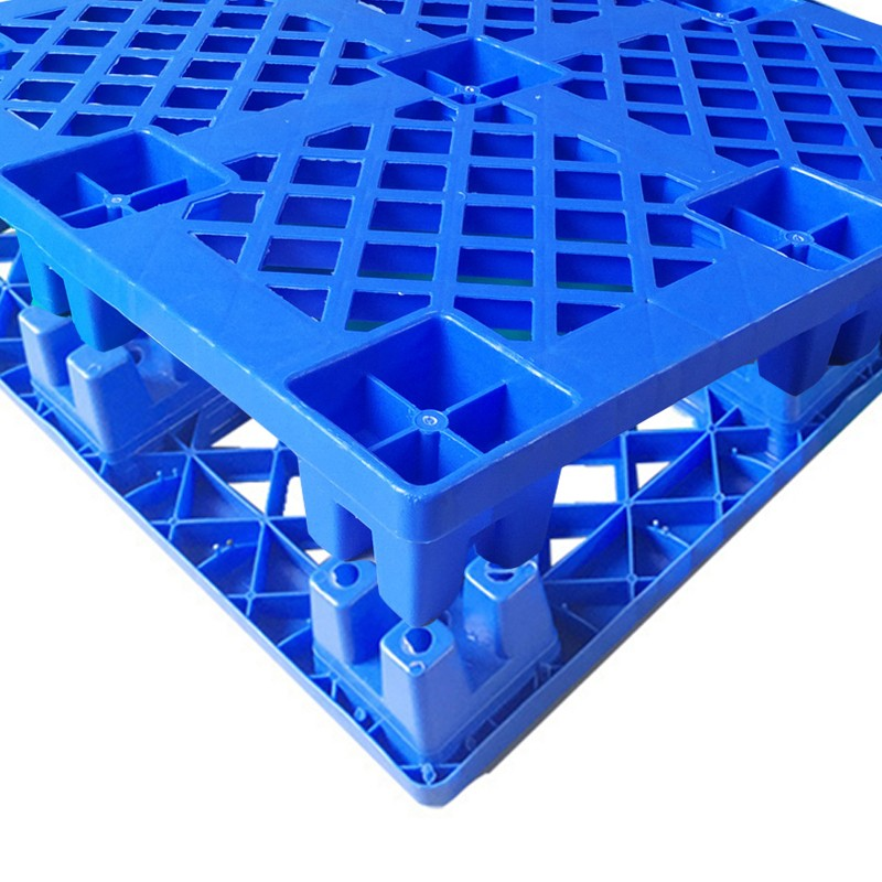 SMART DRAGON- Large Stackable Mesh Hdpe Plastic Pallets-2