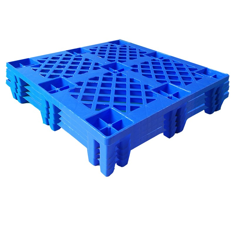 SMART DRAGON- Large Stackable Mesh Hdpe Plastic Pallets-3