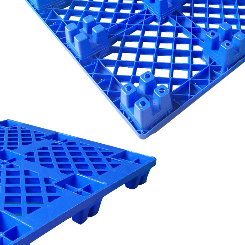 SMART DRAGON- Large Stackable Mesh Hdpe Plastic Pallets-4