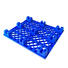nestable blue pallets flat for products