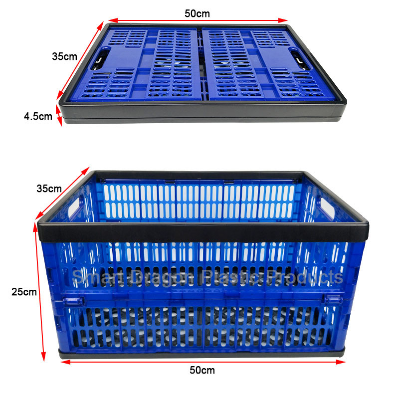 SMART DRAGON-Plastic Folding Boxes Supplier, Large Crate   Smart Dragon-1