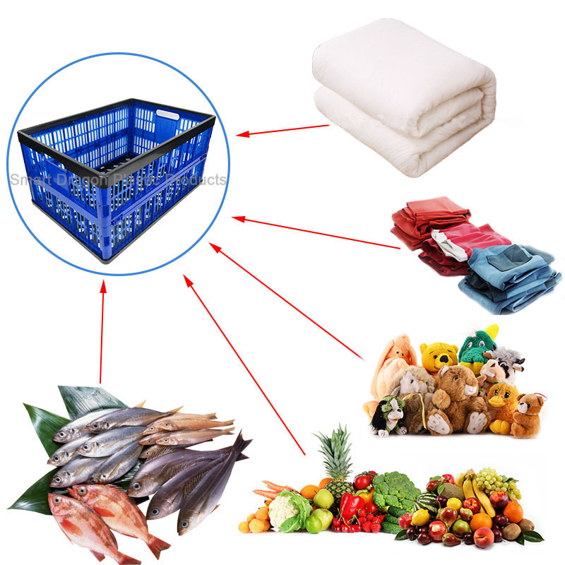 SMART DRAGON plastic buy crates perforated for farm-4