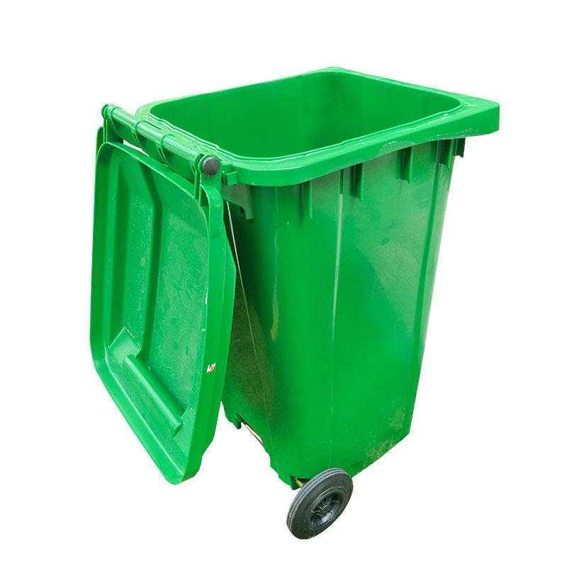 SMART DRAGON-Outdoor 240l Plastic Wheeled Garbage Bin Trash Can Dustbin-smart Dragon-1