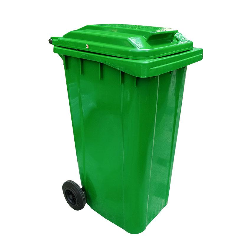 SMART DRAGON-Outdoor 240l Plastic Wheeled Garbage Bin Trash Can Dustbin-smart Dragon-2