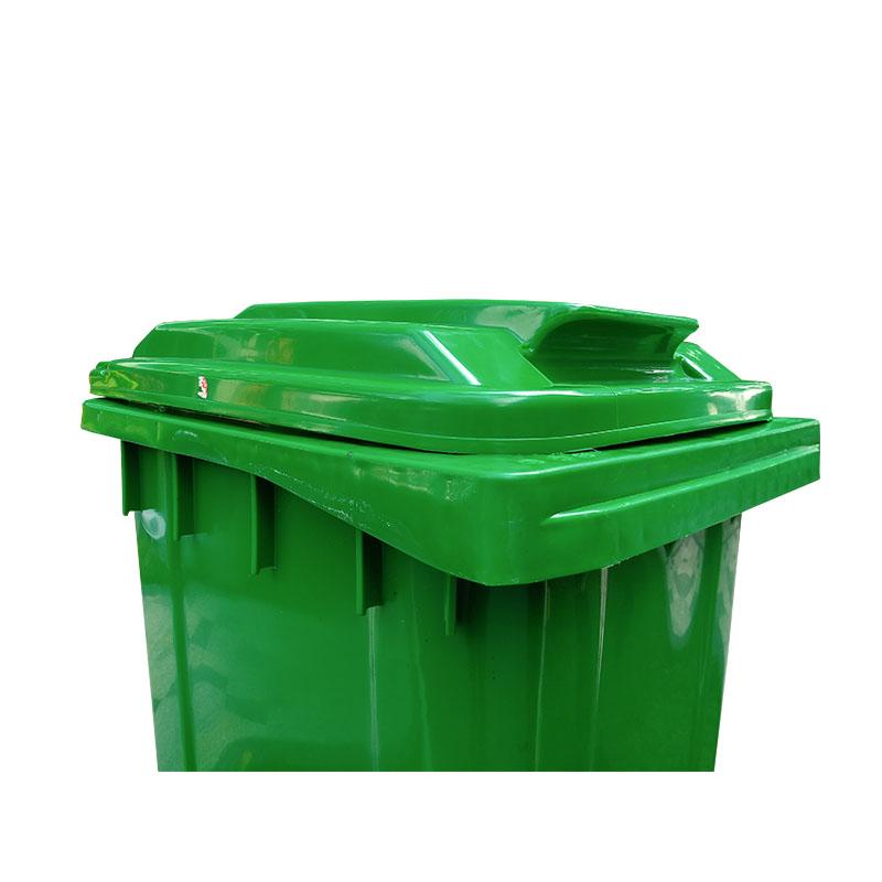 SMART DRAGON-Outdoor 240l Plastic Wheeled Garbage Bin Trash Can Dustbin-smart Dragon-3