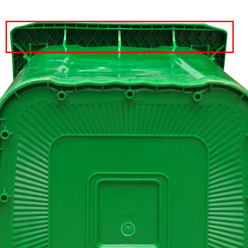 SMART DRAGON-Outdoor 240l Plastic Wheeled Garbage Bin Trash Can Dustbin Waste Bin-smart-1