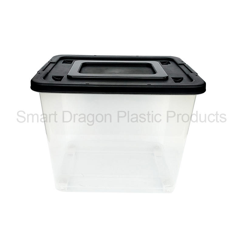 New Transparent Plastic Storage Box With Pulley
