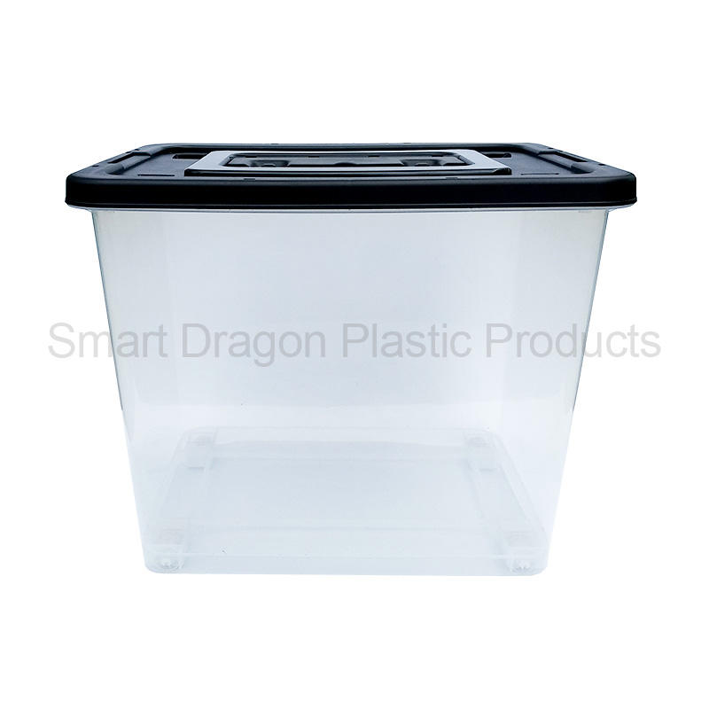 65L Transparent Plastic Ballot Election Vote Box Voting Bin