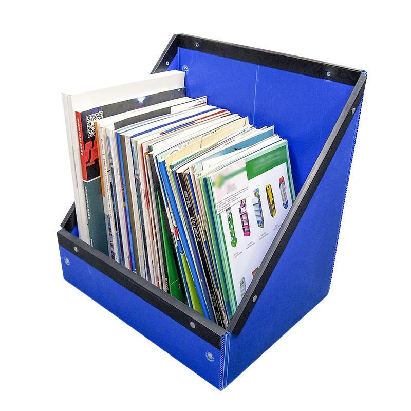 Desk Bookcase Office Supplies Desktop Storage Box Book Information Archive File Rack