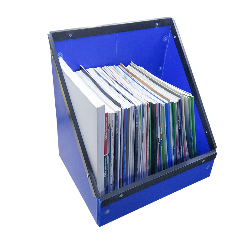 SMART DRAGON-Desk Bookcase Office Supplies Desktop Storage Box Book Information Archive-2