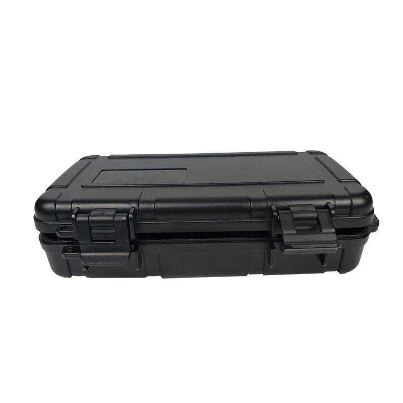 Custom Plastic Sealed Waterproof Cigar Box Instrument Box Plastic Electronic Cigarette Packaging Box