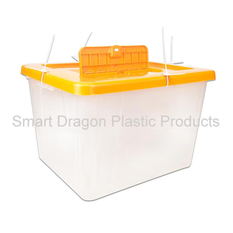 Clear Plastic Ballot Voting Box For Libya Referendum Election