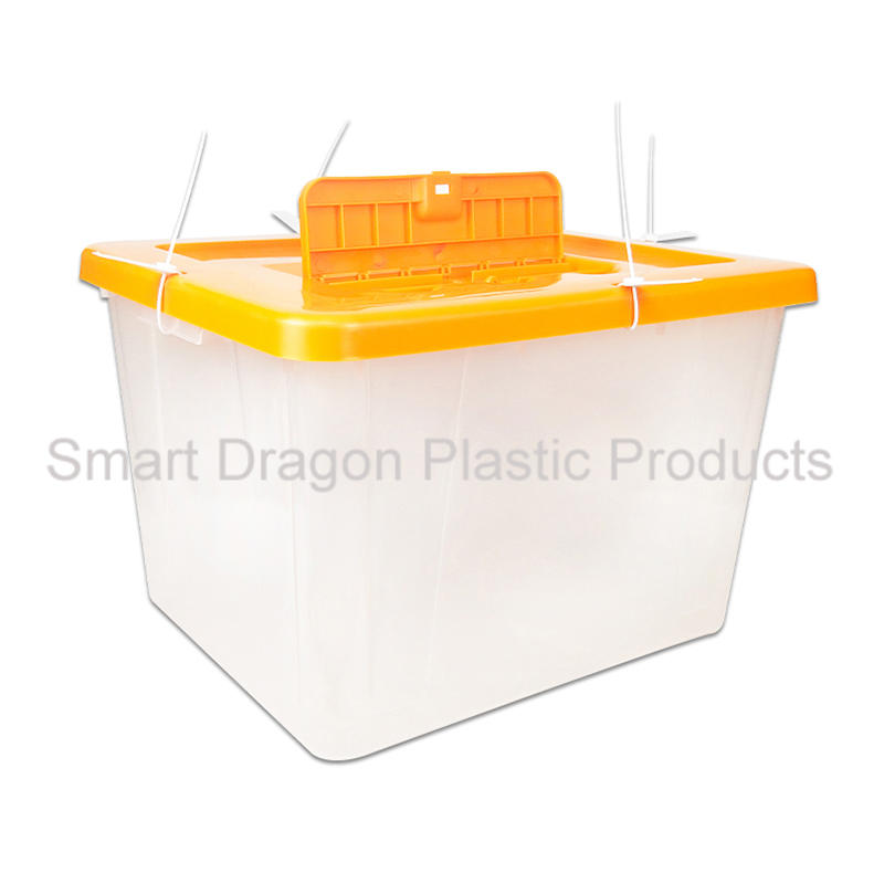 Clear Plastic Ballot Voting Box For Libya Referendum Election
