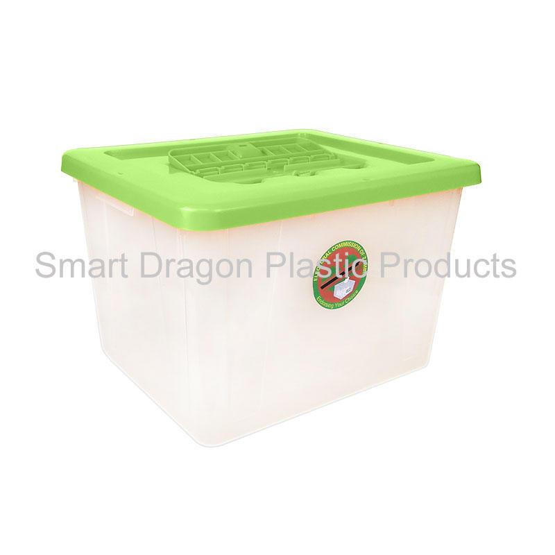polypropylene 50L large plastic ballot box for election vote