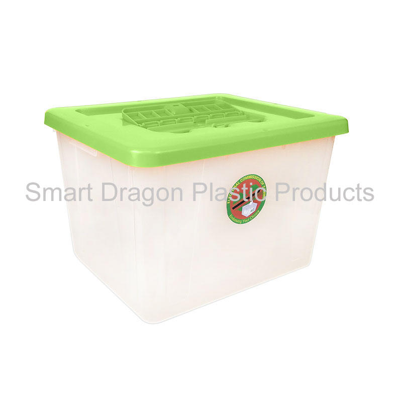 polypropylene 50L large plastic ballot box for election vote