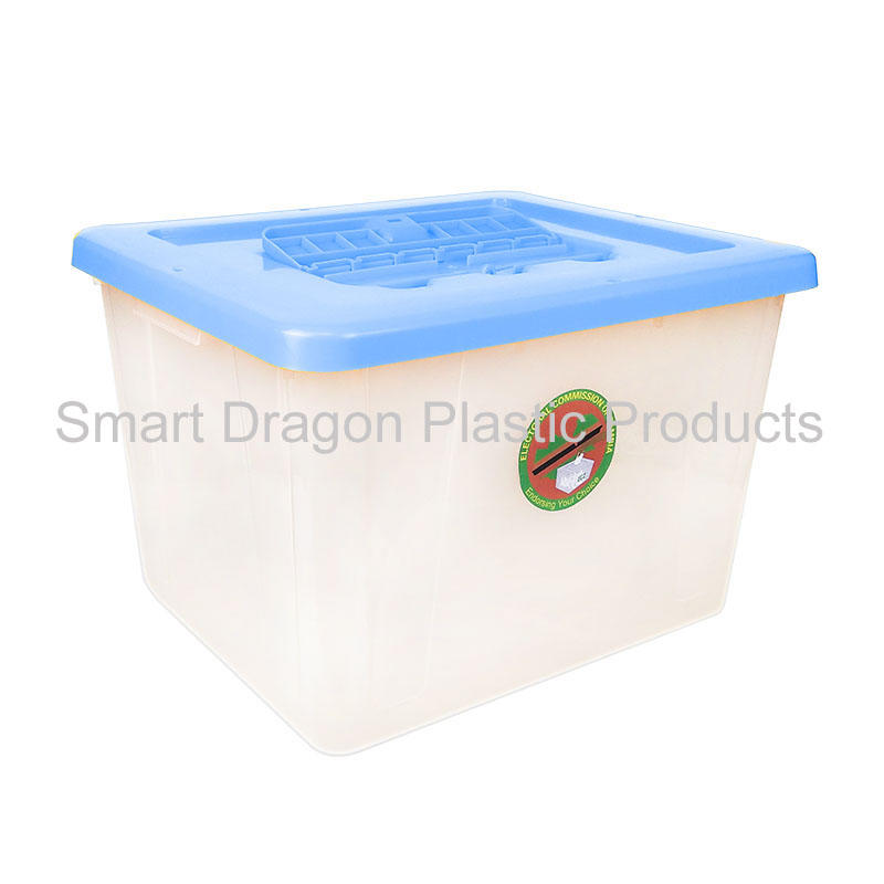 Custom clear transparent plastic voting box ballot box for election