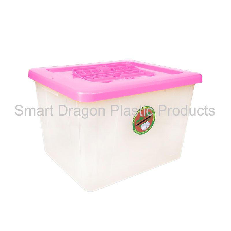 40L-50L heavy duty clear plastic ballot box large ballot boxes for election