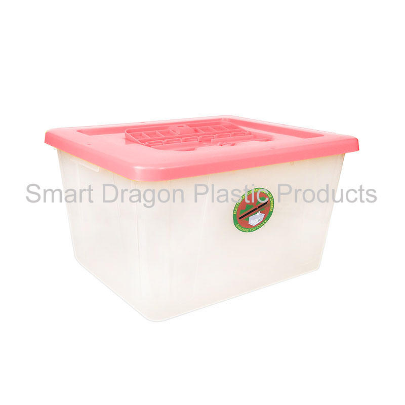 40L-50L Heavy Duty Translucent Plastic Ballot Box With Lock For Election Activity