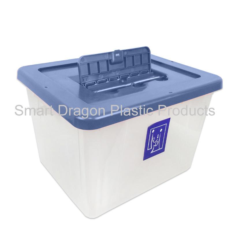 40L-50L transparency plastic ballot box floor standing plastic ballot box