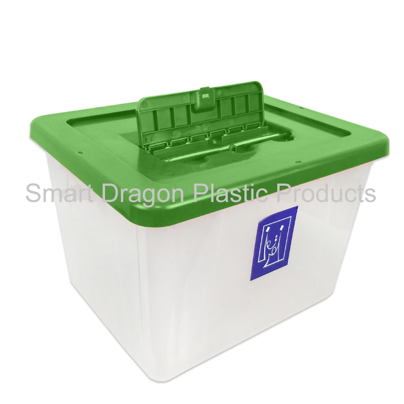 product-SMART DRAGON-Plastic Ballot Box Security Custommade Ballot Boxes for Election-img-1
