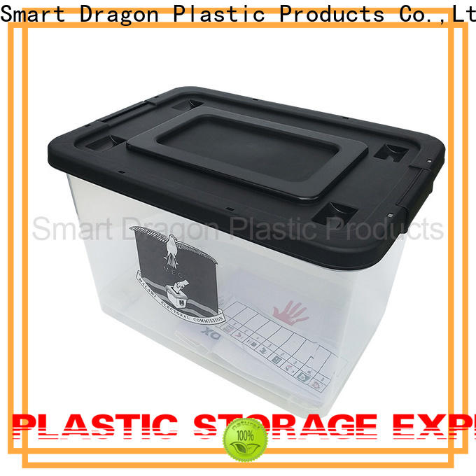 SMART DRAGON wheels fabric storage bins with lids brands for shipping