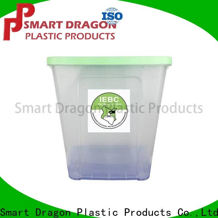 SMART DRAGON transparent ballot box suppliers for sale for election
