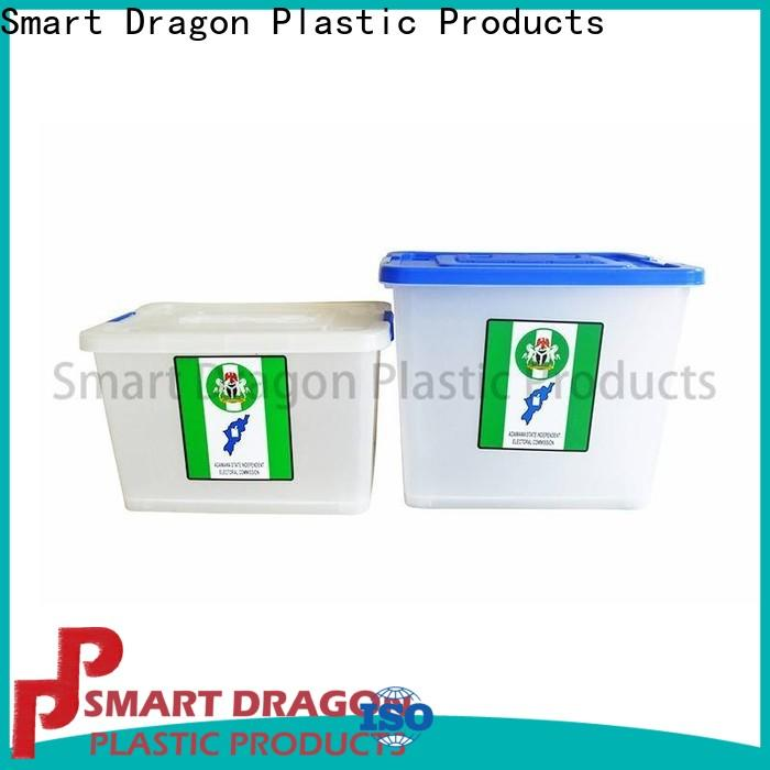 SMART DRAGON colored voting boxes picture for election