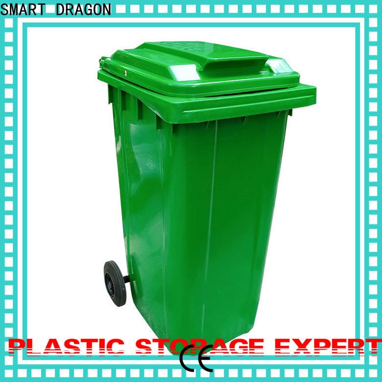 SMART DRAGON wheeled Plastic Waste Bin features hospital