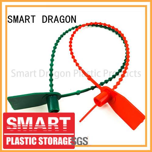 SMART DRAGON Brand nylon 370mm colored plastic bag security seal