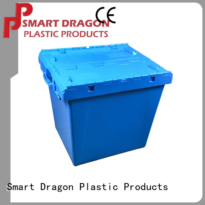 SMART DRAGON mesh plastic storage boxes for business for delivery