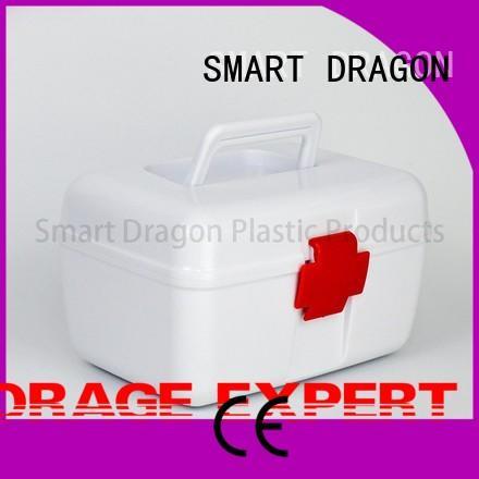 first aid box supplies material kit SMART DRAGON Brand plastic medicine box
