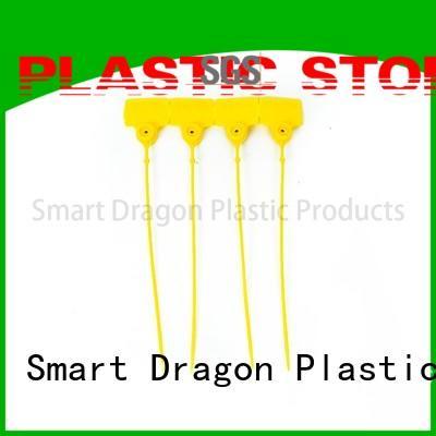 SMART DRAGON 182mm plastic bag security seal seamless for ballot box