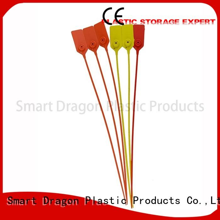 SMART DRAGON one-time plastic strap seals cable for voting box
