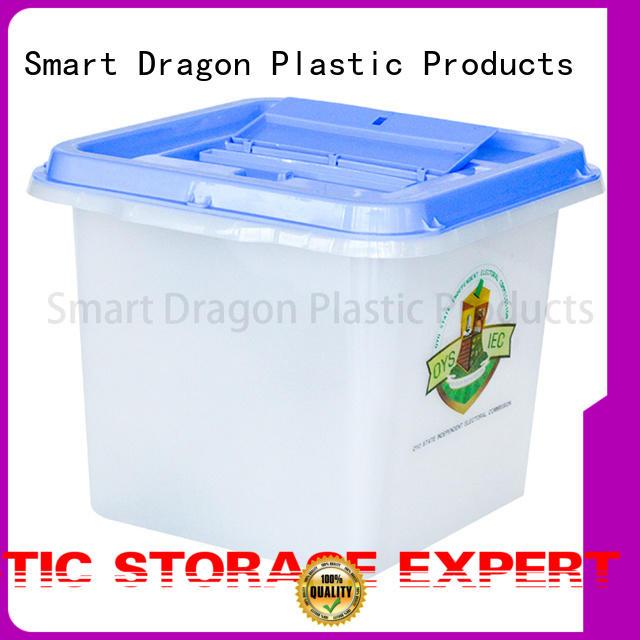 SMART DRAGON Brand seals multifunction pp custom ballot box company