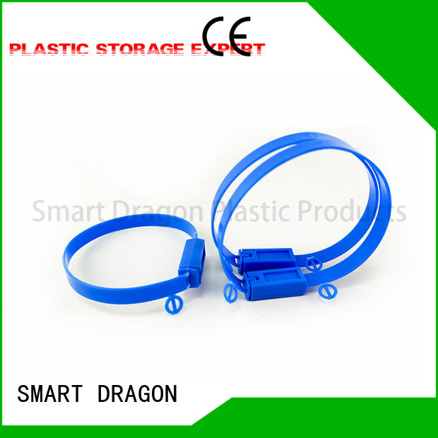 SMART DRAGON Brand seal 180mm custom high security truck seals