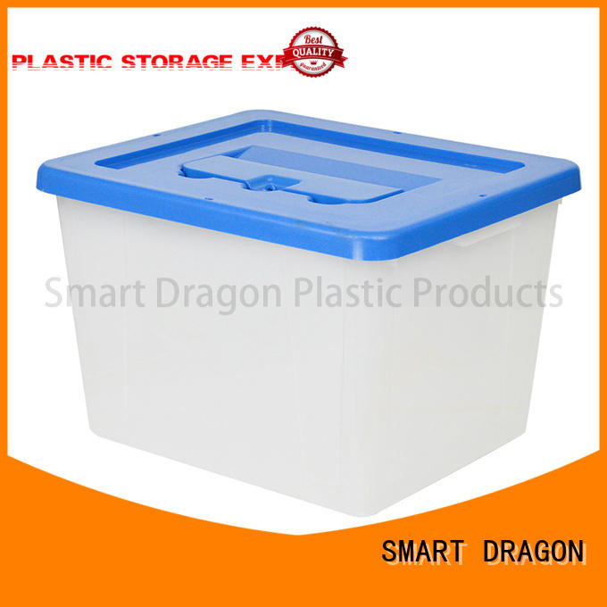 plastic plastic storage boxes bottom for election SMART DRAGON