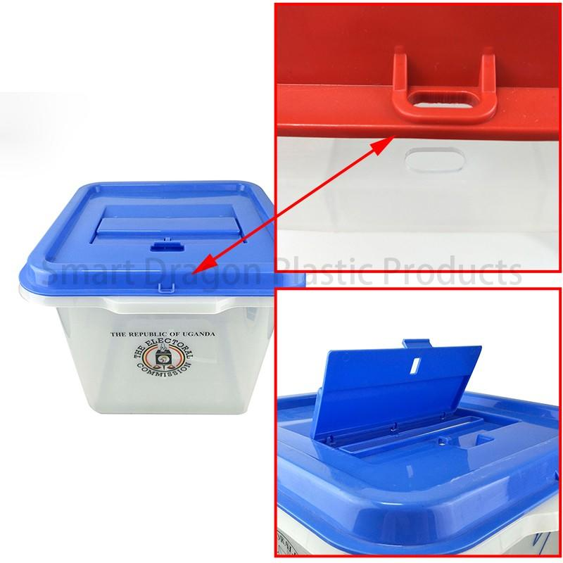 SMART DRAGON-Base 325x325cm Plastic Ballot Voting Box | Plastic Ballot Box | Smart-1