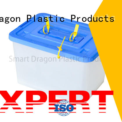SMART DRAGON large black ballot box features for election