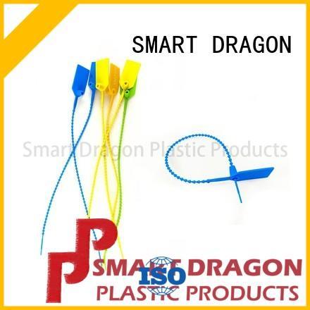230mm Nylon Plastic Pull Tight Security Ballot Box Seals for Temper Proof