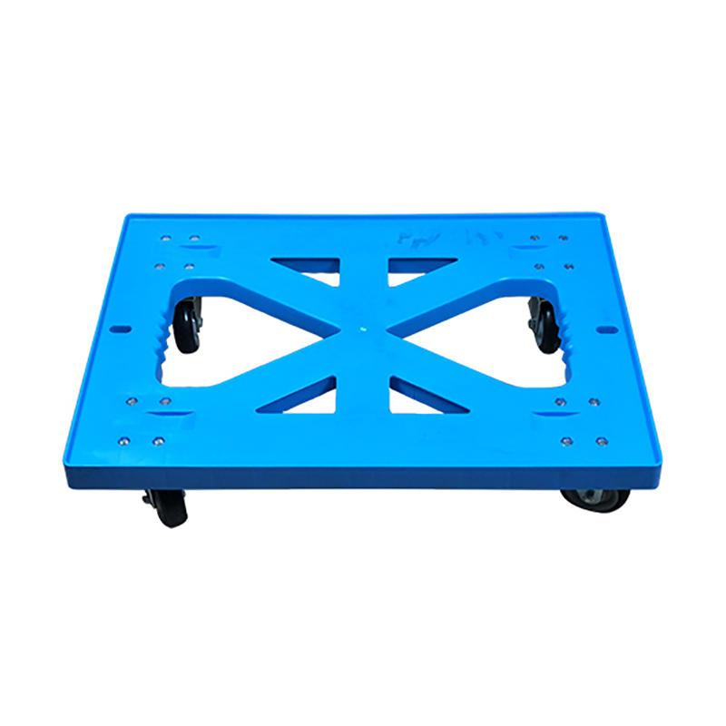 SMART DRAGON-Customize With 4 Wheels Dolly Board Trolley   Plastic Trolleys