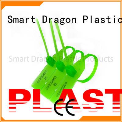 SMART DRAGON colored plastic seal pull for voting box