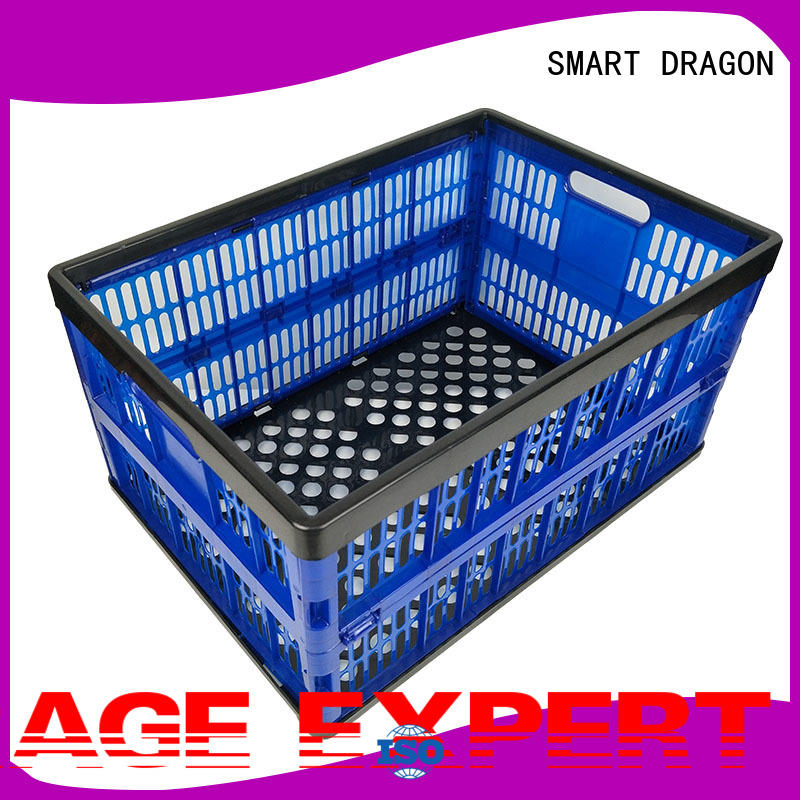 SMART DRAGON car plastic folding baskets customization for chain shop