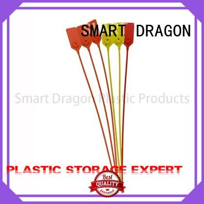 Hot prevent plastic bag security seal 210mm selflocking SMART DRAGON Brand