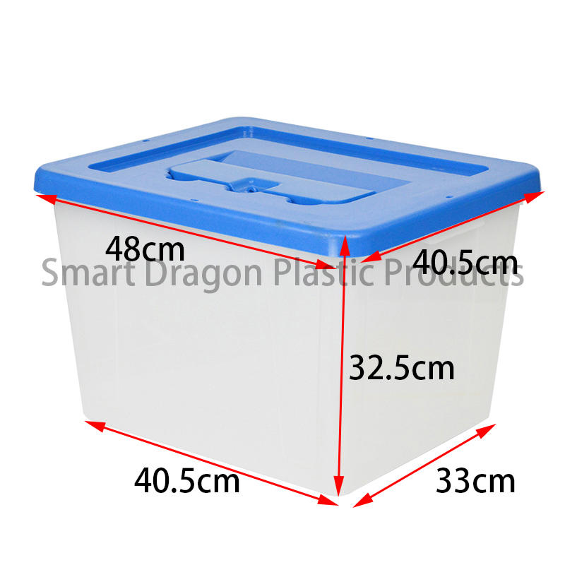 SMART DRAGON-Transparent Voting Box Plastic Ballot Boxes-40l | Transparent Ballot Box Factory