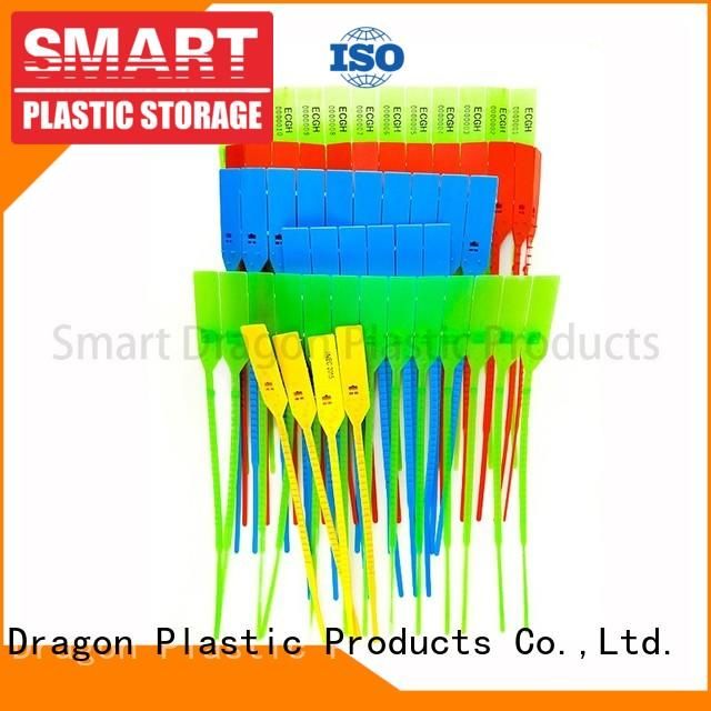 Plastic Pull Tight Security Seals with Serial Numbers and Company Logo