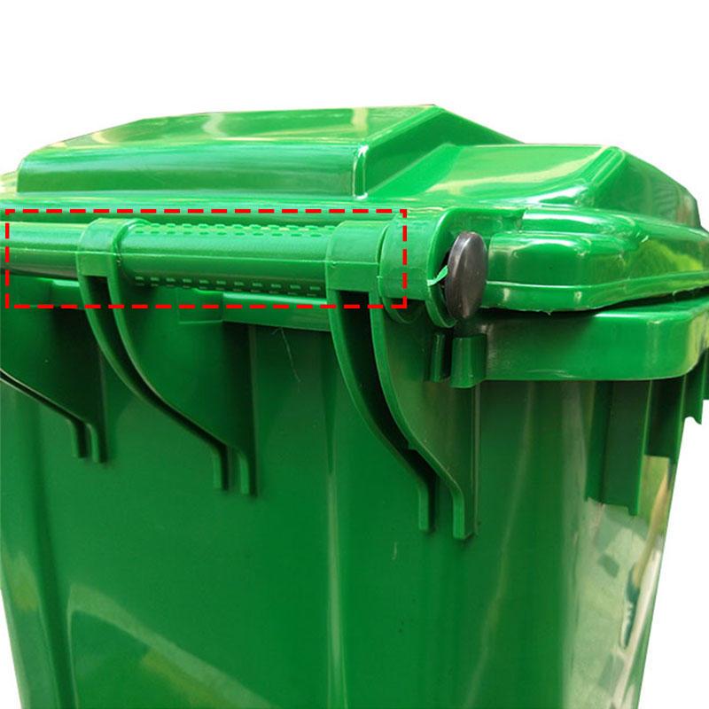 SMART DRAGON-Outdoors Street Plastic 240l Trash Can Waste Bin-smart Dragon Plastic Products-1