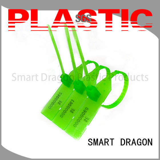pull colored SMART DRAGON Brand plastic bag security seal